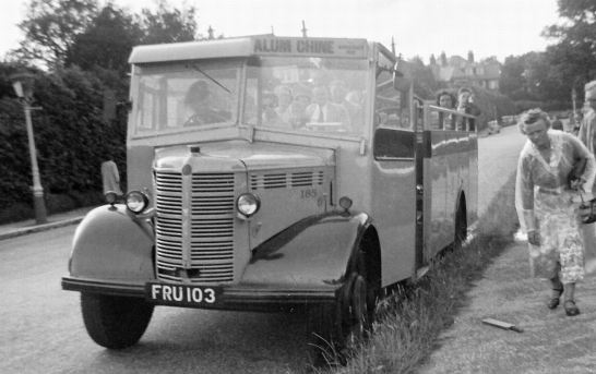 1942 Bedford OWBs Duple-bodied built in 1942 and open-topped in 1953