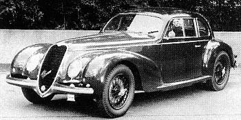 1943 Alfa romeo 6c 2500 ss touring
