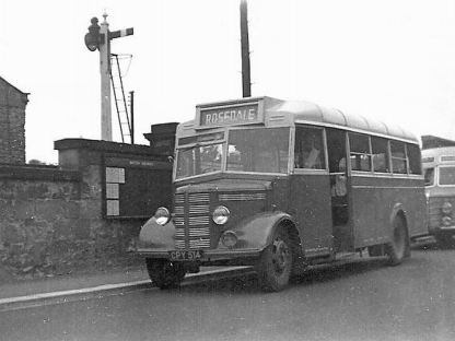1944 Bedford OWB with Duple utility bodywork, probably