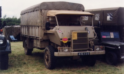1944 Bedford RL 3Ton 4x4 Cargo Mine Cab Armoured (AVG 113 D)