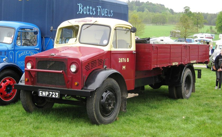 1945 Bedford OY series truck (probably OYD) 3519cc