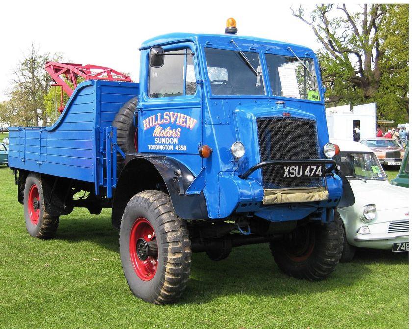 1945 Bedford QL Breakdown truck 2800 cc