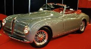 1946 Alfa romeo 6c 2500 s cabrio