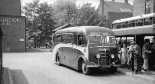 1946 Bedford OB with Plaxton FC3DF