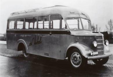 1946 Bedford OL8D Car. Jongerius