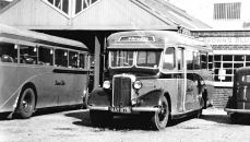 1946 Bedford WTB coach with a 26 seat Duple body