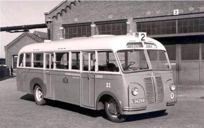 1947 Bedford-Hoogeveen (in- en uitstapdeur)021a