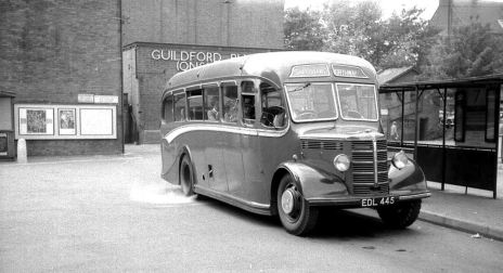 1947 Bedford OB Duple Vista C29F bodied