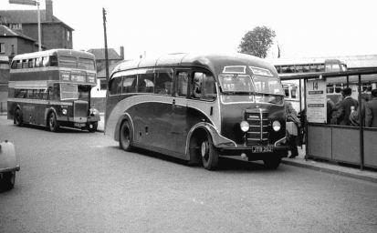 1947 Bedford OB Plaxton FC30F bodied