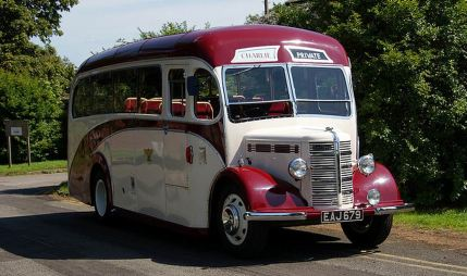 1947 Bedford UB with Plaxton Body