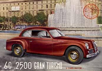 1948 alfa romeo 6c 2500 Gran Turismo