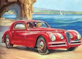 1948 Alfa romeo 6c2500 coupe