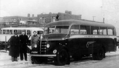 1948 Bedford bus voor Scheers Touringcar kusters-scheers-tourin