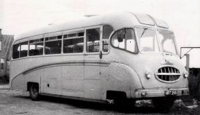 1948 Bedford OB. Im pretty certain this would have been constructed by Belle Coachworks