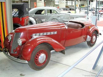 1948 Imperia TA-8 - roadster body