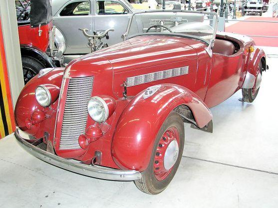 1948 Imperia TA-8 Sport fl3q