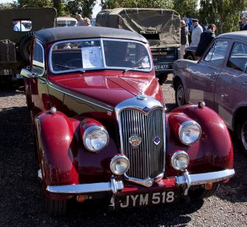 1948 Riley 1½-litre RMA saloon 1948 (DVLA) first registered 12 August 1948, 1496cc