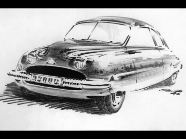 1949-1956 Saab 92 - 1947 Drawing