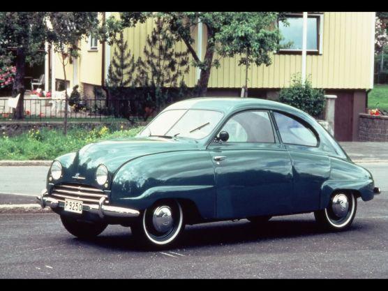 1949-1956 Saab 92 - 1950