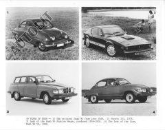 1949 - 1980 Saab 92 Sonett III 95 Wagon & 96 V4 ORIGINAL Multiview Photo
