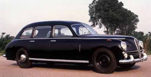 1949 Alfa romeo 6c 2500 lungo