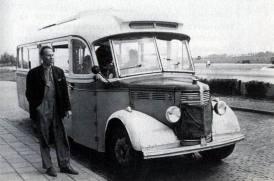 1949 Bedford carr Hainje Heerenveen B-21018