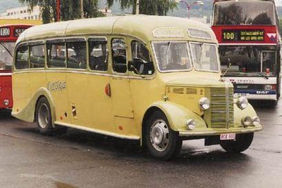 1949 Bedford OB Bella Vista 70ps 3500cc