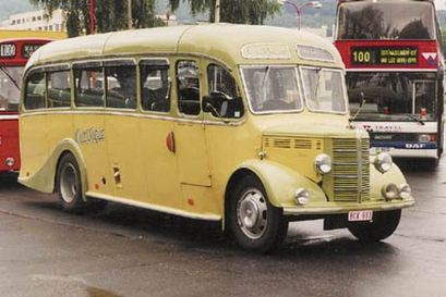 1949 Bedford OB Bella Vista 70ps 3500cc