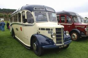 1949 Bedford OB with classic Duple body