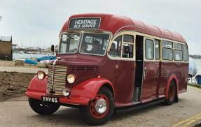 1949 Bedford OB with Duple service bus body