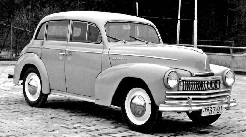 1949 Moscvitch 401Э - Москвич 401Э 5d 401-424e 0