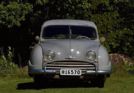 1949 Saab 92 pre-production prototype (chassis 92009)