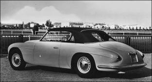 1950 alfa romeo 6c2500 cabriolet Touring tyl