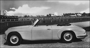1950 alfa romeo 6c2500 cabriolet Touring
