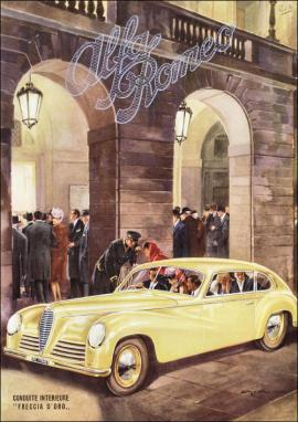 1950 alfa romeo svh7ha 6C 2500 Freccia d'Oro