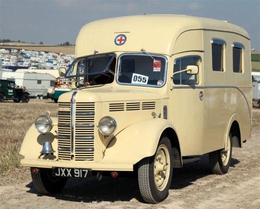 1950 Bedford KZ Ambulance