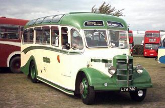 1950 Bedford OB with Duple C27F body