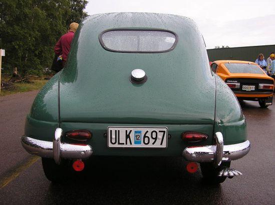 1950 SAAB 92 rear