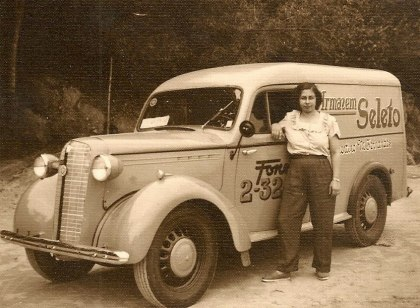 1950 Vauxhall Bedford PC Van