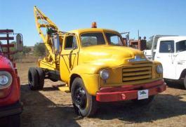 1950s Bedford D Series Crane Truck