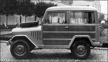 1951 Alfa romeo Matta Giardinietta