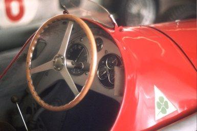 1951 Alfetta 159 steering wheel formule 1 wereldtitel Fangia
