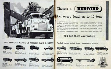 1951 Bedford ad