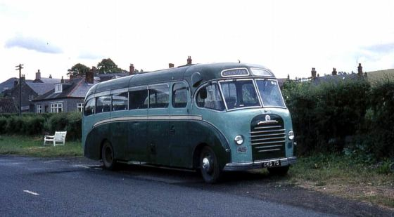 1951 Bedford SB with Duple C33F bodywork