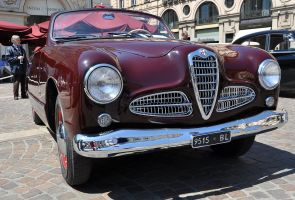 1952 Alfa Romeo 1900 L Victoria Cabriolet body by Stabilimenti Farina 48 units made