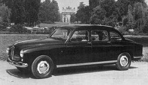 1952 Alfa romeo 1900 Limousine by colli