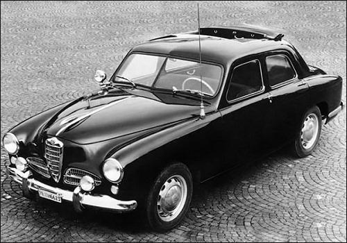 1952 Alfa Romeo 1900 TI Pantera built for the police special foces