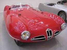 1952 Alfa Romeo Disco Volante Spider front