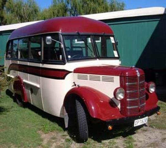 1952 Bedford KZ New Zealand