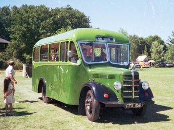 1952 Bedford MLC FFX458